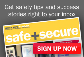 Sign up now for Safe + Secure