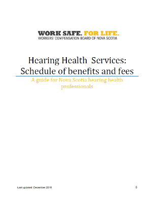 Hearing Health Services Guide for Providers
